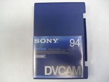 Box of 10 New Sony DVCAM PDV-94N  Video Cassette