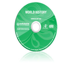SOS Switched On Schoolhouse World History Geography Grade 10 Homeschool Software