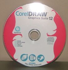 Corel Draw Graphics Suite 12 cd