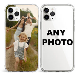 Personalised Custom Photo Phone Soft Case Cover For iPhone 11 12 Mini 12 Pro Max
