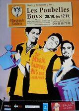 Les poubelles boys - 2002-concert affiche-en concert-tourposter