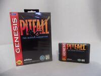 Pitfall The Mayan Adventure  Sega Genesis Mega Drive.