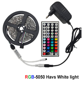 LED Strip Light RGB 5050 SMD 2835 Flexible Ribbon RGB Stripe 5M 10M 15M tape kit