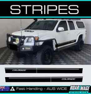 AM door side Stripes fit 2008-2011 RC Holden COLORADO Decal stickers 4wd 4x4