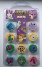 Animal Jam  - 10 Pack Erasers - School - party bag - nursery