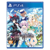 Cyberdimension Neptunia 4 Goddesses Online PS4 2019 Chinese Factory Sealed