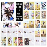 30pcs /set Kpop TWICE Collective Photo Picture Posters Postcard Lomo Card