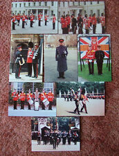 8 Card Set No PH4 Military Postcards THE KING'S REGIMENT IN LONDON. Mint cond.