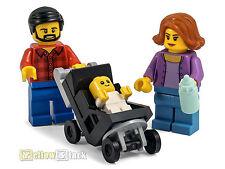 LEGO® City Familie / Figuren Eltern Baby Kinderwagen NEU aus 60134
