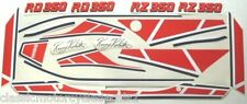 YAMAHA RZ350 RD350 YPVS LC2 KENNY ROBERTS PAINTWORK DECAL SET
