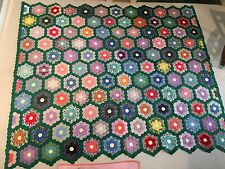 Quilt (antique) 1940's ( Grand Mothers Garden )