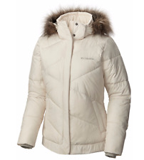COLUMBIA Womens XL Snow Eclipse Jacket Hooded Warm Quilted Winter Coat WL5072