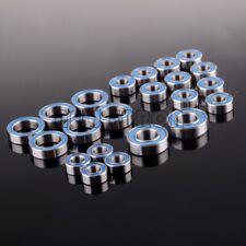 22P para RC Coche Axial AX10 SCX10 Dingo Rodamiento Sellado de Goma Azul métrica Set