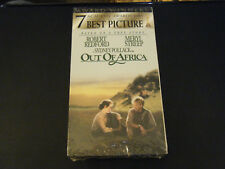 Out of Africa (VHS, 1993) - Brand New!!!