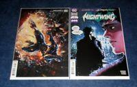 NIGHTWING #71 both A & B Alan Quah variant 1st print set DC JOKER WAR TIE IN NM