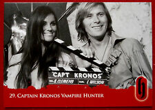 HAMMER HORROR - Series Two - Card #29 - Captain Kronos: Vampire Hunter