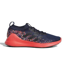 ADIDAS PUREBOUNCE+ Mens Running Shoes Knit Athletic Sneaker, Navy Red, Size 9.5