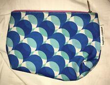 Kapitza x Clinique make bag pouch zip closure cotton canvas