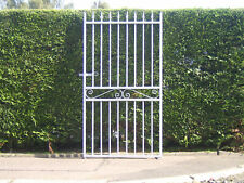 Strong 6 ft  tall single gate fully galvanized for 2 ft 9 ins opening  R/H