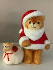 Vintage Lucy And Me Figurine 1982 Christmas Santa Claus w Toy Sack