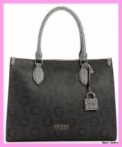 Guess Hand Bag Handbag Purse Wallet Satchel Tote shopping Adlai keychain