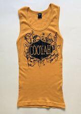 Cooyah Vintage Style tank top juniors Size XS Rasta Style Reggae Irie Jamaica