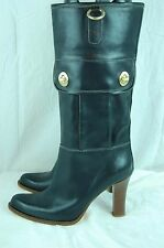 SUPER SEXY !!! COACH HIGH HEEL LEATHER RIDING WOMEN  BOOTS SIZE US 9