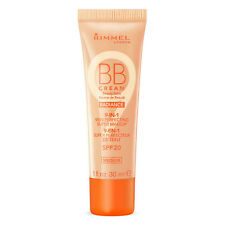 Rimmel BB Cream Radiance 9-in-1 Perfecting Super Makeup - Medium -SPF20 -30ml -