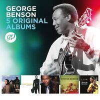 GEORGE BENSON - 5 ORIGINAL ALBUMS  5 CD NEU