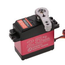 DS3225MG 25KG Metal Steering Gear Digital Servo Waterproof for RC Car Boat Parts