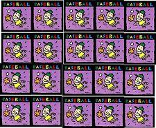 Set of 20 NEW sheets BASEBALL Sports Stickers!