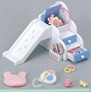 New Sylvanian Families Calico Critters Ka-207 Baby Playground Slide Set Japan