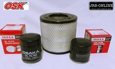 HOLDEN RA RODEO 3.0L TURBO DIESEL 4JH1TC OIL AIR FUEL FILTER SERVICE KIT 2003-07