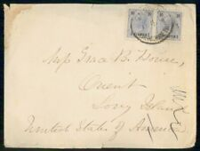 Mayfairstamps Austria 1890s Offices in Turkey Classic Cover to Usa wwf97423