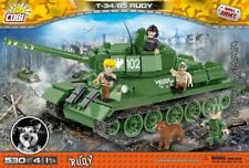 Cobi Rudy 102 T-34/86 / 2486 A / 530 blocks Small Army soviet tank