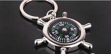 Compass Navigation keychain Premium Magnetic Travel camping keyring metal