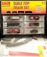 Micro-Trains Line #99403110 ATSF (blue warbonnet) F7 set w/track
