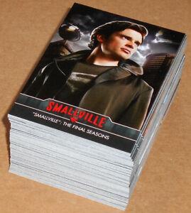Smallville Seasons 7-10 (Cryptozoic, 2012) ~ COMPLETE 85-CARD BASE SET