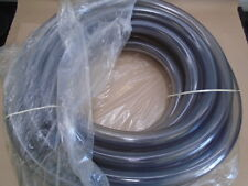 "Oshkosh 3279915 1"" x 50' Clear Vinyl High Grade Tubing Hose 1.5 Od 1"