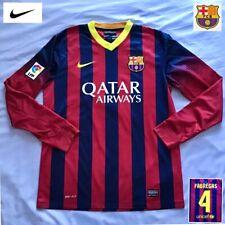 Barcelona Football Shirt Mint FÀBregas medium Nike Long Sleeves Genuine Jersey