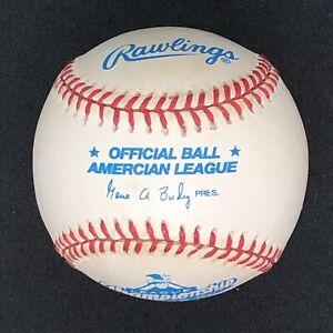 "ERROR Rawlings Official ""Amercian"" 1997 ALCS Baseball AL Retail Version w/ BOX!!"