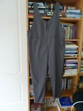 NEW JUMPSUIT SIZE XL 14 16 COOL SUMMER FABRIC GREY