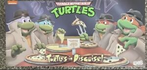 NECA TMNT Turtles In Disguise Rare HTF Target Exclusive 4 Pack *IN HAND*