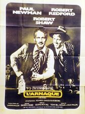"""L'ARNAQUE (THE STING)"" Affiche ressortie (Paul NEWMAN, Robert REDFORD)"