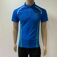 Lacoste Mens Sport Multicolor Stripes Upper Mesh Ultra Dry Tennis Polo XS Fr 2