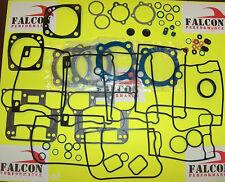 Harley Evo 1340 Big Twin Full Top End+Base Gasket Set/Kit w/Teflon Head 92-98