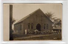 NEW CHURCH BUILDING, SONA BATA: Congo postcard (C26582)