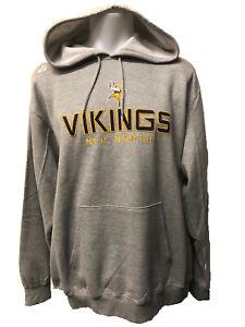 Minnesota Vikings MEN'S Majestic Athletic Pick Six Pullover Hooded Sweatshirt
