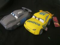 2 X DISNEY PIXAR CARS 3 Movie Plush / Soft Toys -   BRAND NEW RARE