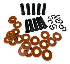 10 x TATTOO Coil Cores, E-clips and 20x Washers - UK 1018 Steel 25 or 32mm